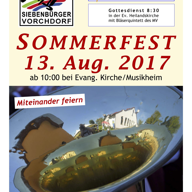 Gemeindesommerfest 2017
