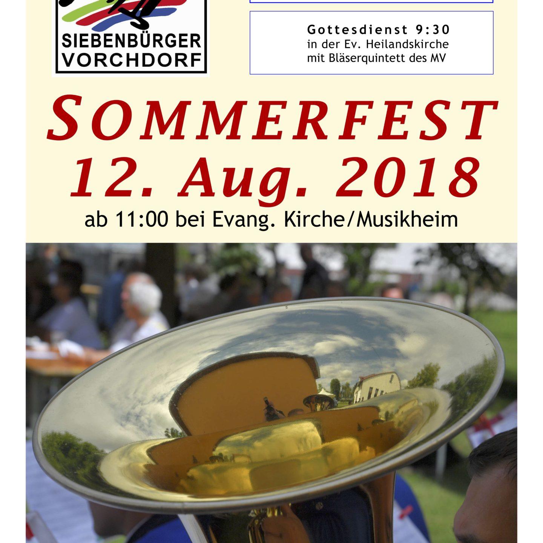 Gemeindesommerfest 2018